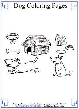 dog coloring pages 16