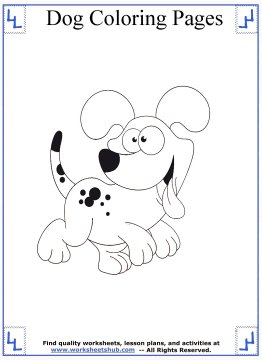 dog coloring pages 18
