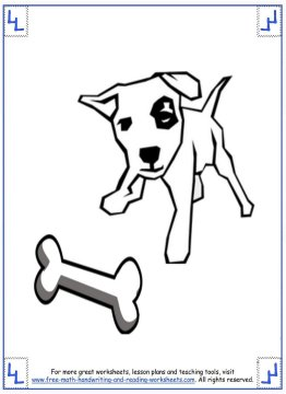 dog coloring pages 2