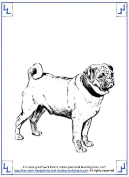 dog coloring pages 6