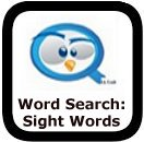 dolch sight words word search