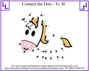 dot to dot printable unicorn puzzle