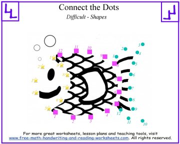 dot to dot worksheets 2