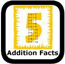 addition facts math worksheets