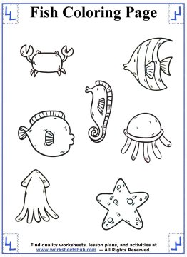 fish coloring pages 12