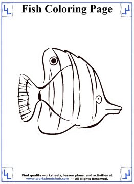 fish coloring pages 14