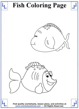 fish coloring pages 15