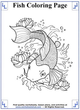 fish coloring pages 6