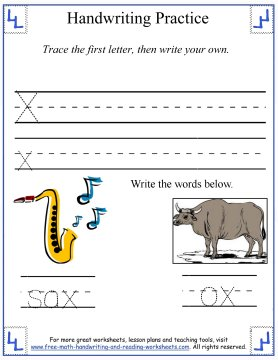 free handwriting worksheets 6
