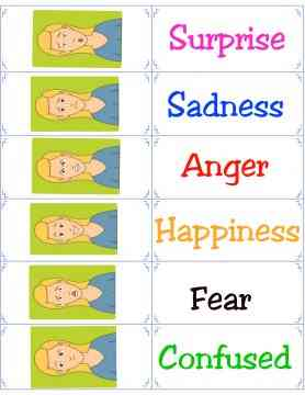graphic regarding Feelings Cards Printable identified as Cost-free Printable Flashcards - Feeling Flash Playing cards