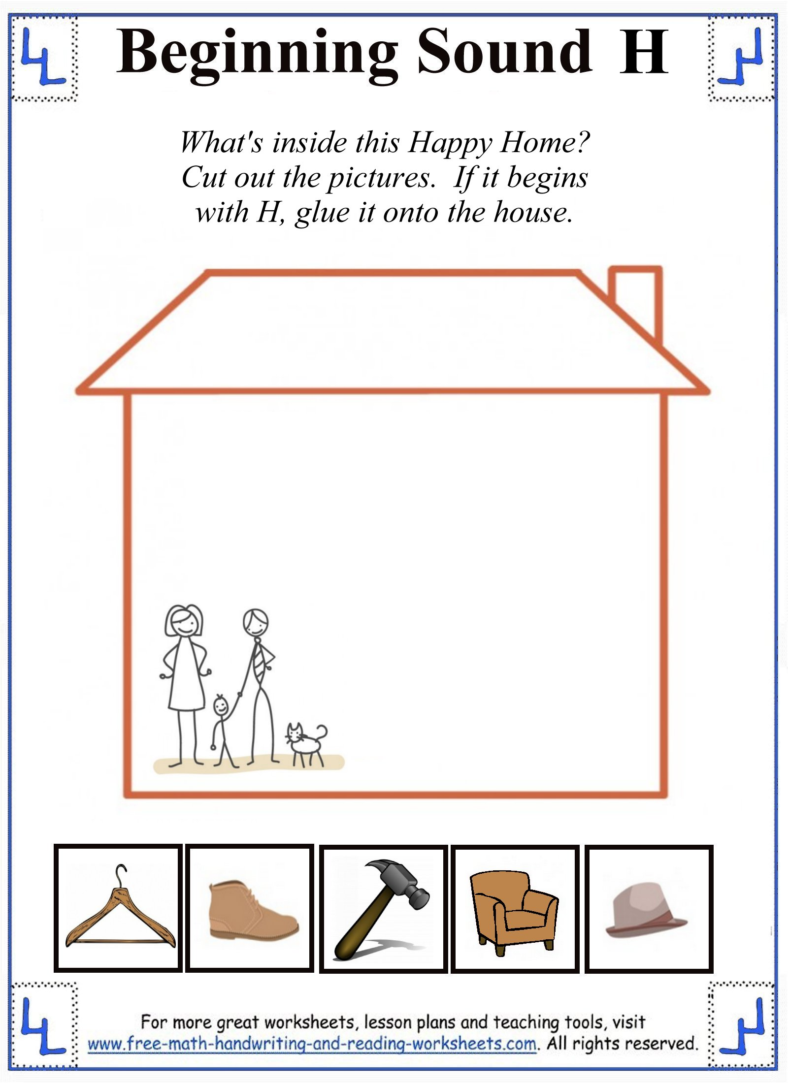 h letter worksheets. Black Bedroom Furniture Sets. Home Design Ideas