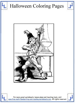 halloween coloring pages 11