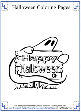halloween coloring pages 14