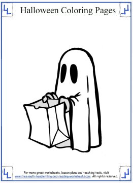 halloween coloring pages 9
