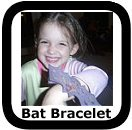 halloween bat bracelet craft