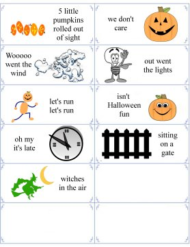 graphic relating to 5 Little Pumpkins Printable named Halloween Poems - 5 Very little Pumpkins