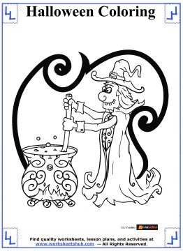 halloween printable coloring pages 10
