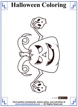 halloween printable coloring pages 4