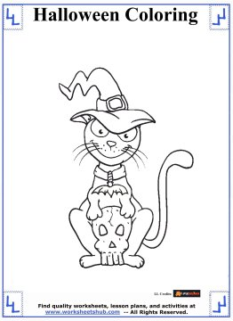 halloween printable coloring pages 5