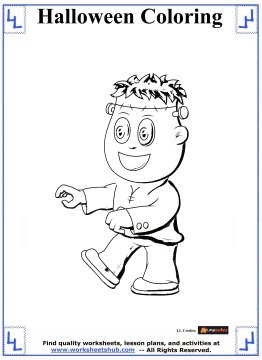 halloween printable coloring pages 7