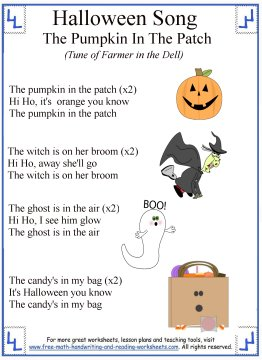 halloween songs for kids 6