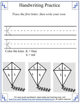 handwriting practice worksheets 5