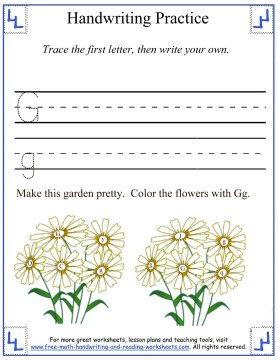 handwriting practice worksheets 1