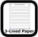 printable handwriting sheets