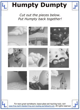 humpty dumpty nursery rhyme 2