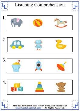 kindergarten worksheet 3