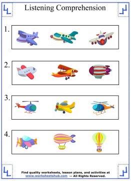 kindergarten worksheet 4