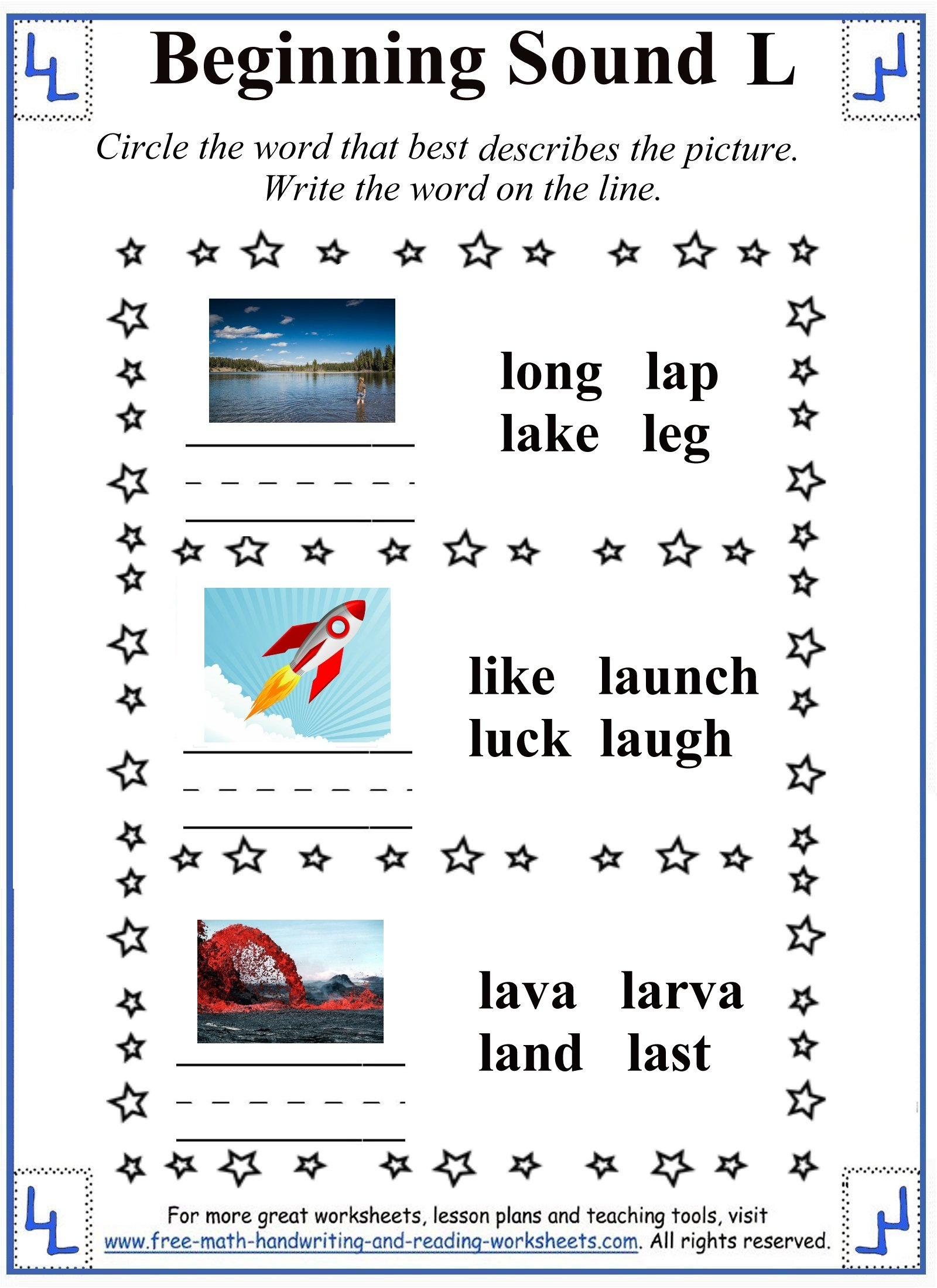 L Letter Worksheets – L Worksheets