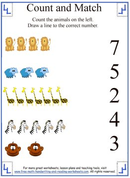 Learn To CountCounting 10 Worksheets