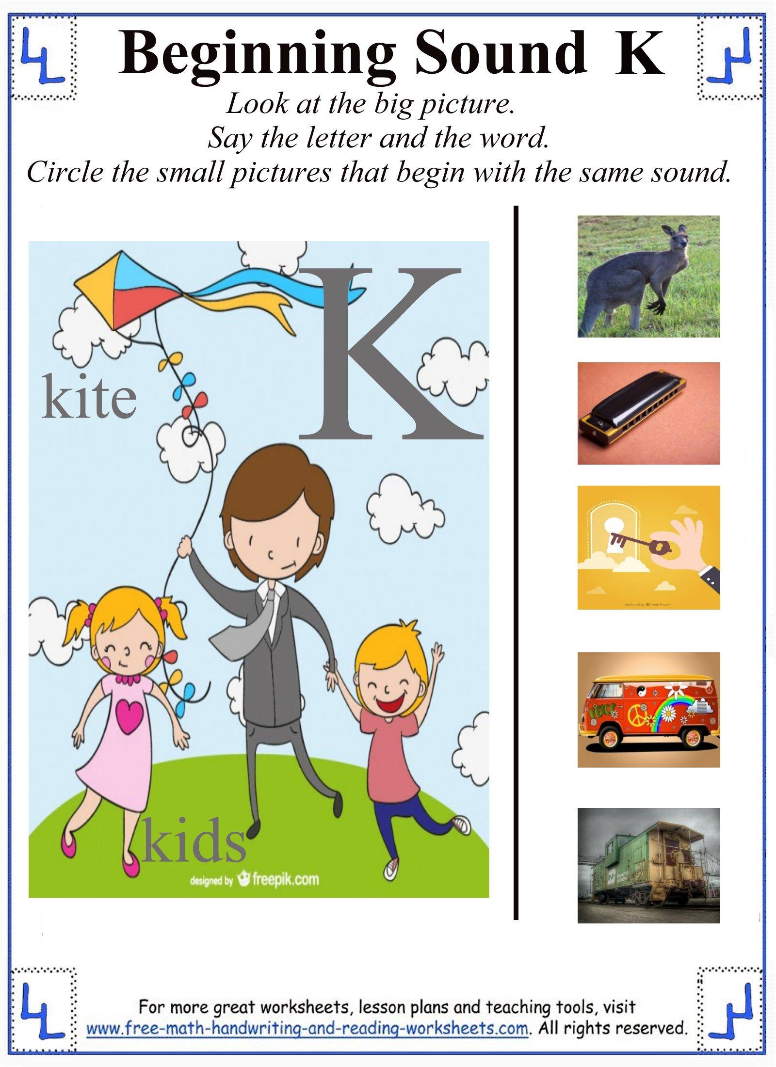 - Letter K Worksheets & Activities