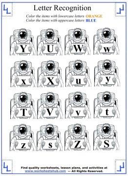 letter recognition worksheets 3