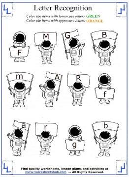 letter recognition worksheets 6