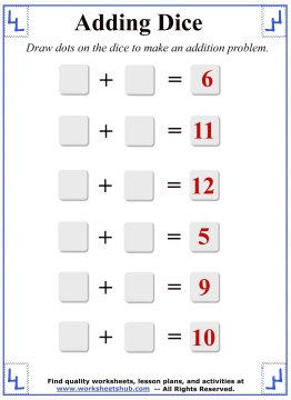 math addition 6