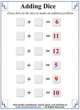 math addition 6