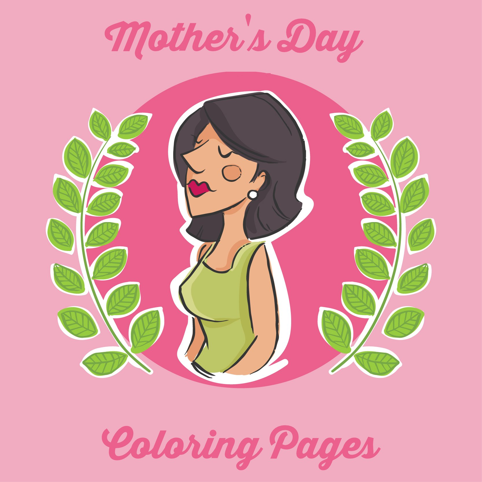 mothers day coloring pages 0