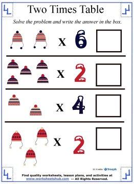 multiplication charts 8