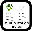3 Basic Multiplication Rules