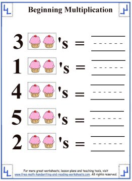 multiplication for kids 2