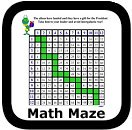 multiplication math maze