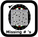 multiplication table missing numbers