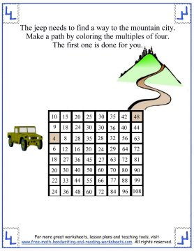 multiplication table chart 2