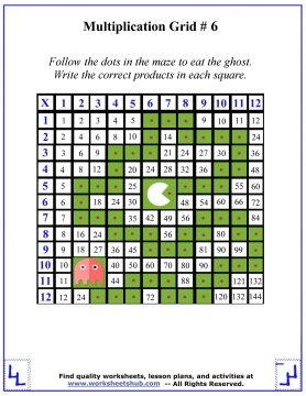 Multiplication Times Tables Free Math Worksheets