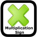multiplication sign worksheets