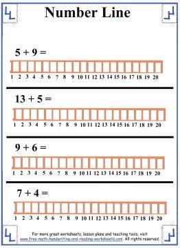 number line 5
