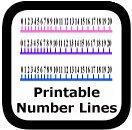 printable number line 00