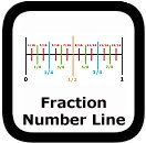 fraction number line 00